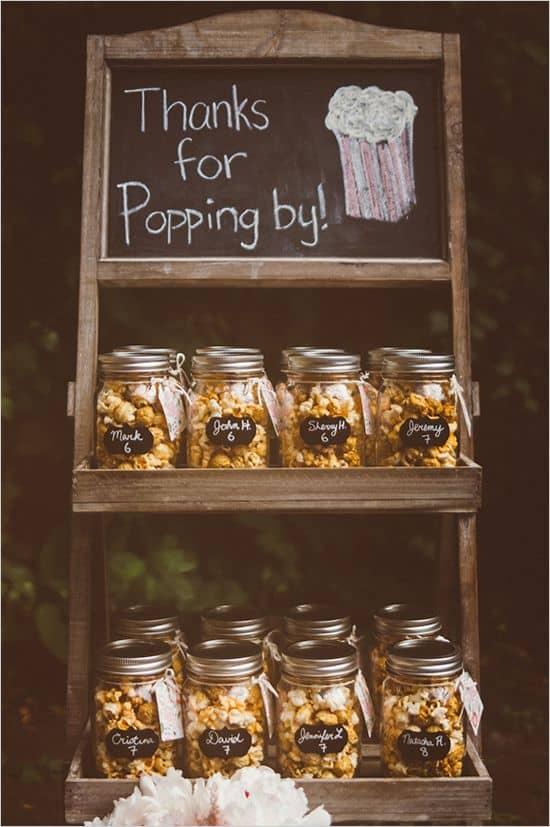 Wedding Favour Ideas Thief Hall